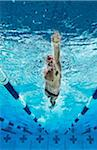 Swimmer, International Swimming Hall of Fame, Fort Lauderdale, Florida, USA Stock Photo - Premium Royalty-Free, Artist: Peter Barrett, Code: 600-05973050