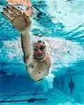 Swimmer, International Swimming Hall of Fame, Fort Lauderdale, Florida, USA Stock Photo - Premium Royalty-Free, Artist: Peter Barrett, Code: 600-05973054