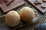 Still Life of Chinese Pastry Jin deui Stock Photo - Premium Rights-Managed, Artist: Ron Fehling, Code: 700-05973271