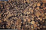 Logs, Merritt, Nicola Country, British Columbia, Canada Stock Photo - Premium Royalty-Free, Artist: Ron Fehling, Code: 600-05973356
