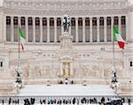 Vittorio Emanuele Monument, Rome, Lazio, Italy Stock Photo - Premium Rights-Managed, Artist: Siephoto, Code: 700-05973421