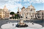 Overview of Duomo Square, Catania, Sicily, Italy Stock Photo - Premium Rights-Managed, Artist: Siephoto, Code: 700-05973425
