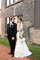 Bride and Groom Stock Photo - Premium Rights-Managednull, Code: 700-05973649