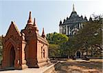 Thatbyinnyu Temple, Bagan, Myanmar Stock Photo - Premium Rights-Managed, Artist: J. A. Kraulis, Code: 700-05973774