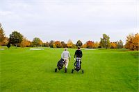 Men on Golf Course, North Rhine-Westphalia, Germany Stock Photo - Premium Royalty-Freenull, Code: 600-05973847