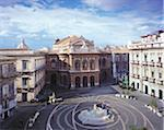 Teatro Massimo Bellini and Piazza Vincenzo Bellini, Catania, Sicily, Italy Stock Photo - Premium Rights-Managed, Artist: Siephoto, Code: 700-05974005