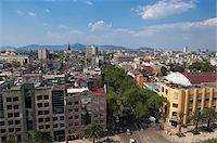 palm - Overview of City, Mexico City, Mexico Stock Photo - Premium Rights-Managednull, Code: 700-05974077