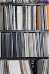 Rows of records on shelves Stock Photo - Premium Royalty-Free, Artist: Aurora Photos, Code: 653-05976243