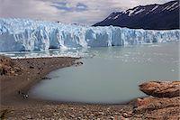 perito moreno glacier - View of the snout of Perito Moreno Glacier, Parque Nacional Los Glaciares, El Calafate, Patagonia, Argentina, South America Stock Photo - Premium Royalty-Freenull, Code: 682-05977102