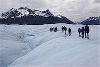 perito moreno glacier - A trekking excursion on Perito Moreno Glacier, Glaciers National Park, El Calafate, Patagonia, Argentina, South America Stock Photo - Premium Royalty-Freenull, Code: 682-05977104