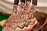 Mehendi tradition, Pushkar, Rajasthan state, India Stock Photo - Premium Royalty-Free, Artist: Norbert Schäfer, Code: 682-05977310