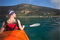 Kayaking, Boulders, Simons Town, South Africa Stock Photo - Premium Royalty-Freenull, Code: 682-05977736