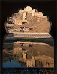 Arch detail with water reflection, Amber Fort, Jaipur, Rajasthan, India Stock Photo - Premium Royalty-Freenull, Code: 682-05977757