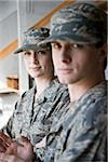 American soldiers in army combat uniform Stock Photo - Premium Rights-Managed, Artist: Kablonk! RM, Code: 842-05979315