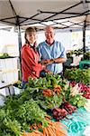 Fresh produce for sale at farmers market Stock Photo - Premium Rights-Managed, Artist: Kablonk! RM, Code: 842-05980116