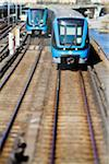 Front view of modern public transportation Stock Photo - Premium Royalty-Free, Artist: AWL Images, Code: 698-05980507