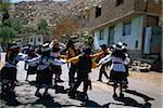 Street dancing in the Paucarpata suburb of Arequipa, Peru Stock Photo - Premium Rights-Managed, Artist: Oriental Touch, Code: 855-05980831