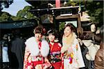 New year at Meiji Shrine, Tokyo, Japan Stock Photo - Premium Rights-Managed, Artist: Oriental Touch, Code: 855-05981020
