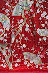 Flower pattern embroidery on a Japanese kimono Stock Photo - Premium Rights-Managed, Artist: Oriental Touch, Code: 855-05981593