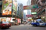 Streetscape at Tsimshatsui, Kowloon, Hong Kong Stock Photo - Premium Rights-Managed, Artist: Oriental Touch, Code: 855-05984413