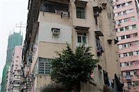Old residential buildings at Tai Kok Tsui, Kowloon, Hong Kong Stock Photo - Premium Rights-Managednull, Code: 855-05984443