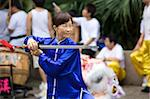 Martial Art, Kung Fu performing at Kowloon Park, Hong Kong Stock Photo - Premium Rights-Managed, Artist: Oriental Touch, Code: 855-05984647