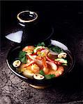chinese prawn soup Stock Photo - Premium Rights-Managed, Artist: Photocuisine, Code: 825-05984997