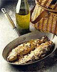 Trout with almonds Stock Photo - Premium Rights-Managed, Artist: Photocuisine, Code: 825-05985109