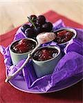 Bourgogne grape jelly with william pears Stock Photo - Premium Rights-Managed, Artist: Photocuisine, Code: 825-05985206