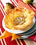 Pear and Fourme d'Ambert cheese in filo pastry Stock Photo - Premium Rights-Managed, Artist: Photocuisine, Code: 825-05985207