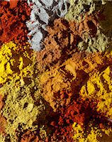 paprika - Selection of spices Stock Photo - Premium Rights-Managednull, Code: 825-05985366
