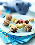 Mini beef and sesame seed kebabs Stock Photo - Premium Rights-Managed, Artist: Photocuisine, Code: 825-05985426