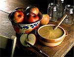 Stewed apple Stock Photo - Premium Rights-Managed, Artist: Photocuisine, Code: 825-05985976