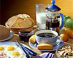 breakfast Stock Photo - Premium Rights-Managed, Artist: Photocuisine, Code: 825-05986045