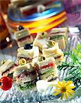 Club sandwiches Stock Photo - Premium Rights-Managed, Artist: Photocuisine, Code: 825-05986110