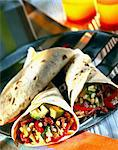 Tortillas stuffed with Enchiladas Stock Photo - Premium Rights-Managed, Artist: Photocuisine, Code: 825-05986111
