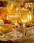 glasses of champagne Stock Photo - Premium Rights-Managed, Artist: Photocuisine, Code: 825-05986197
