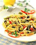 Pasta salad Stock Photo - Premium Rights-Managed, Artist: Photocuisine, Code: 825-05986347