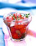 cherry tomatoes in vinegar Stock Photo - Premium Rights-Managed, Artist: Photocuisine, Code: 825-05986551