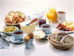 breakfast Stock Photo - Premium Rights-Managed, Artist: Photocuisine, Code: 825-05986710