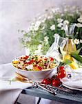 Pasta salad Stock Photo - Premium Rights-Managed, Artist: Photocuisine, Code: 825-05986759