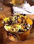 Curried pasta with seafood Stock Photo - Premium Rights-Managed, Artist: Photocuisine, Code: 825-05986785