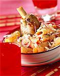 Calabraise Rigatoni pasta with lamb Stock Photo - Premium Rights-Managed, Artist: Photocuisine, Code: 825-05986845