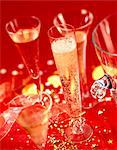 glasses of champagne Stock Photo - Premium Rights-Managed, Artist: Photocuisine, Code: 825-05986985