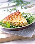 salmon pie Stock Photo - Premium Rights-Managed, Artist: Photocuisine, Code: 825-05987027