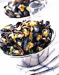 mussels Stock Photo - Premium Rights-Managed, Artist: Photocuisine, Code: 825-05987031