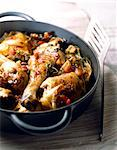 chicken fricassee Stock Photo - Premium Rights-Managed, Artist: Photocuisine, Code: 825-05987035