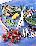 Selection of fresh vegetables Stock Photo - Premium Rights-Managed, Artist: Photocuisine, Code: 825-05987073