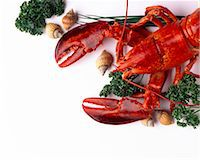 lobster Stock Photo - Premium Rights-Managednull, Code: 825-05987169