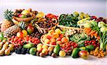 composition of fruit and vegetables Stock Photo - Premium Rights-Managed, Artist: Photocuisine, Code: 825-05987174